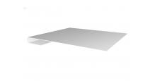 Металлические доборные элементы для фасада в Краснодаре Планка завершающая простая 65мм