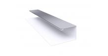 Металлические доборные элементы для фасада в Краснодаре Планка П-образная/завершающая сложная 20х30