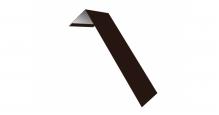 Металлические доборные элементы для фасада в Краснодаре Планка лобовая/околооконная простая 190х50